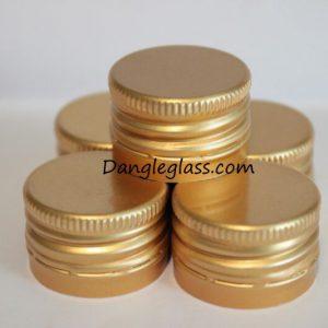 Nắp nhôm ( 28×18 ) vàng