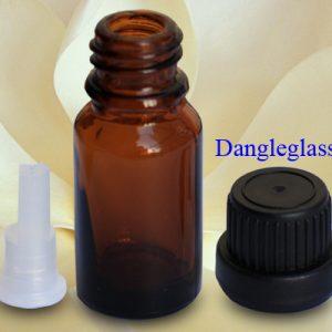 Chai tinh dầu nâu nắp nhựa đen 10ml – 100ml