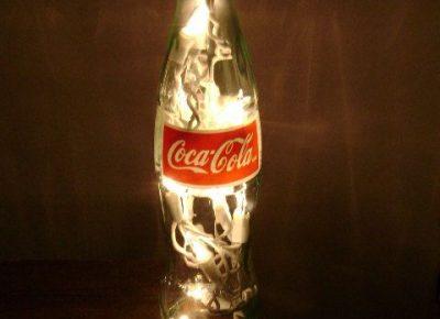 Cách làm đèn sang tạo với chai coca