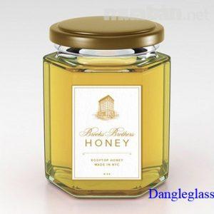 Hũ Lục giác đựng mật ong 80ml,180ml,280ml,380ml,500ml,730ml